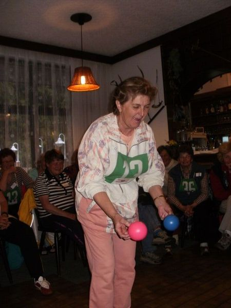 Maruska Hobzová soustředěná před sportovním výkonem