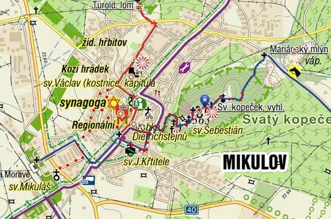 pěší výlet na Svatý kopeček u Mikulova 18.9.2011