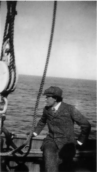 G. Mahler při plavbě do New Yorku 1910