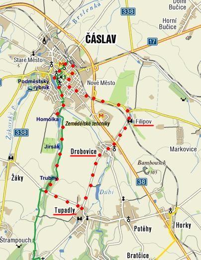 vycházka kolem Čáslavi 17.12.2011