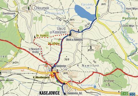 okolí Kasejovic