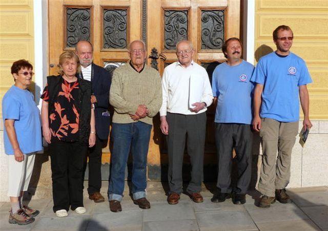 zde jsou s bratry Reynkovými ti, kteří se nejvíce zasloužili o vznik stezky B. Reynka