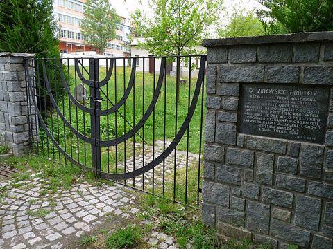 brána židovského hřbitova
