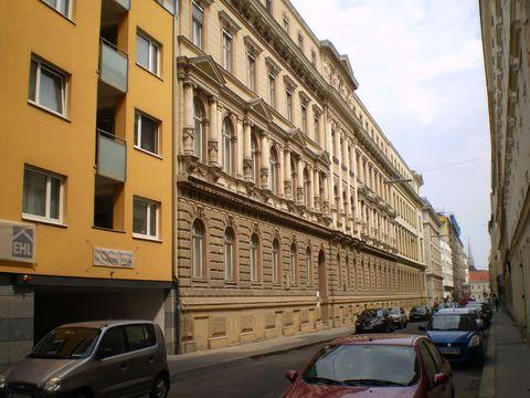 sanatorium Löw ve Vídni, kde zemřel GM