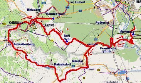 cyklovýlet na Pohansko, zpět přes celnici do Reinthalu a do Valtic 17.9.2011