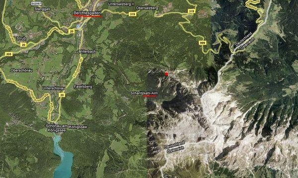okolí Berchtesgadenu