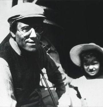 Gustav Mahler s dcerou Annou