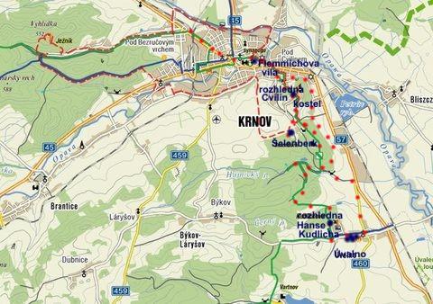 výlet na rozhledny u Krnova 7.10.2010