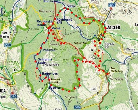 okruh Žacléř-Rýchory 6.5.2011