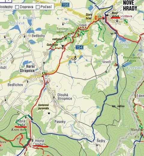 trasa 23.8.2009 - Terčino údolí