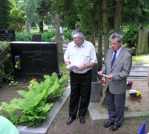 Jirka Veselý a Mirek Svatos uvádějí kapitoly z historie Čeřínku