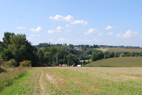 petrkovské údolí od hřbitova ve Sv. Kříži