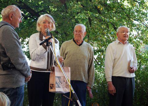 bývalá starostka Havlíčkova Brodu se vyznává ze svého obdivu k otci i synům Reynkovým