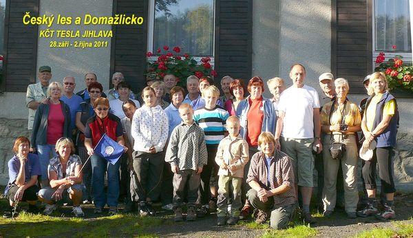 účastníci zájezdu do Pece pod Čerchovem 2011