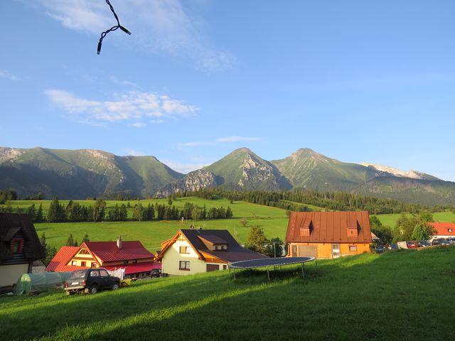 výhled na Belanské Tatry
