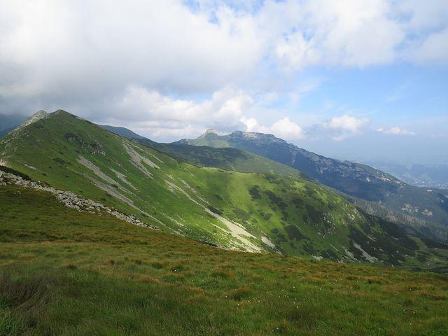 v pozadí Giewont, národní hora Poláků