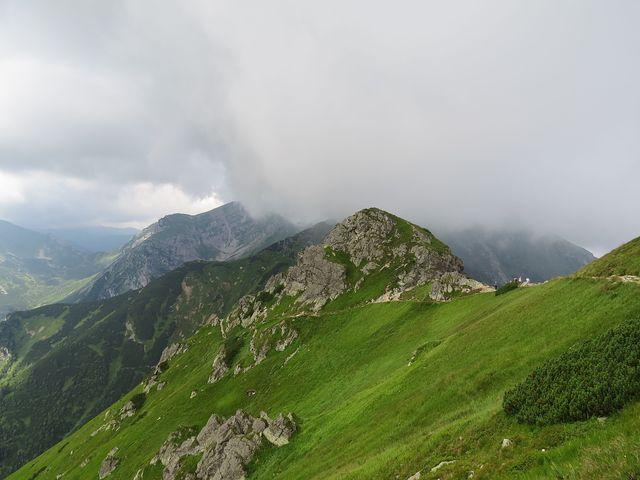 Goričková (1912 m) - i zde se mění počasí k horšímu