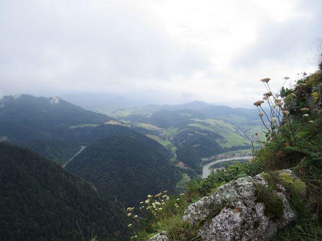 výhled na slovenskou stranu