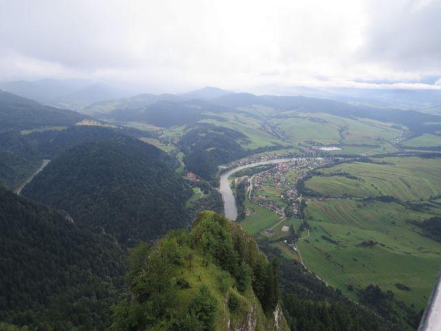 Dunajec tvoří hranici