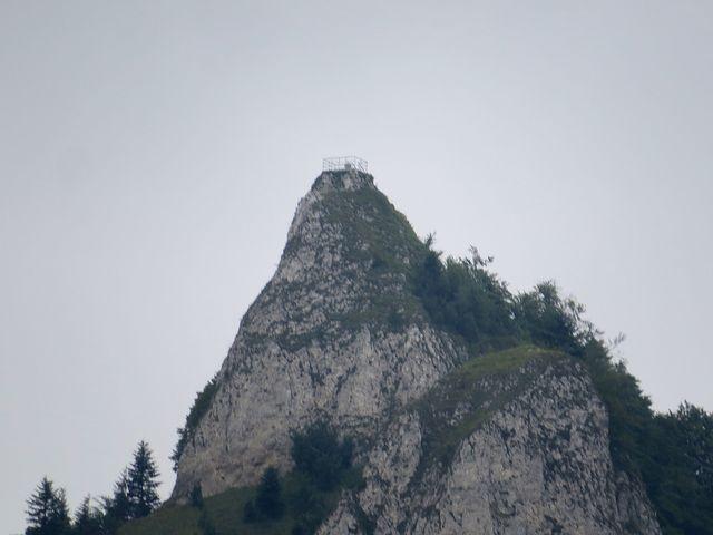 přístupný vrchol s výhledem