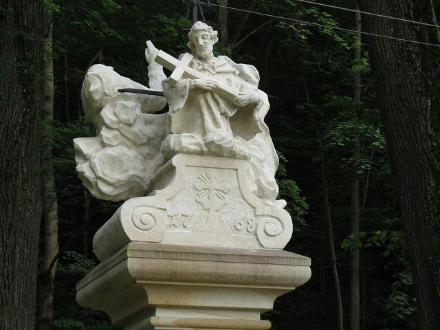 sousoší sv. Jana Nepomuckého a Nejsvětější Trojice