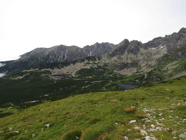 vrcholky, po kterých vede nejtežší tatranská túra