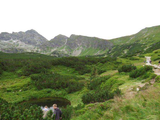 pohled na Svinicu z Gasienicowé doliny
