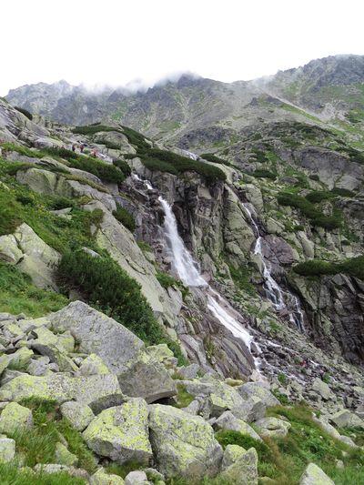 vodopád Skok je 25 metrů vysoký