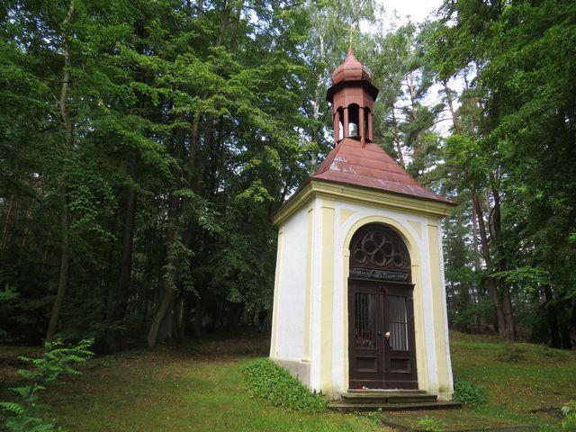 poutní kaple sv. Kříže na Dunajovické hoře