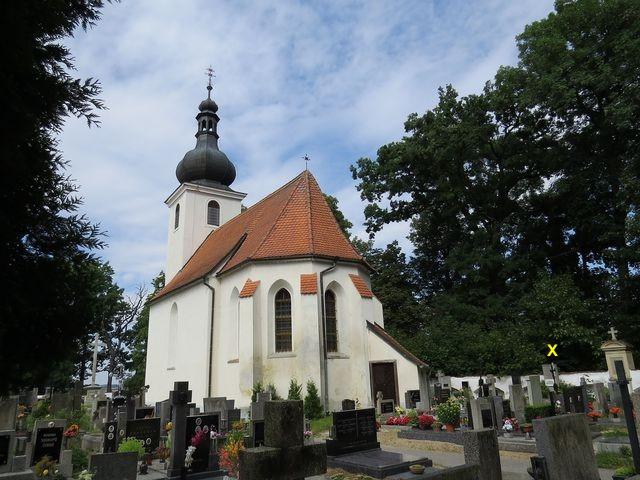 hřbitovní kostel sv. Jiljí