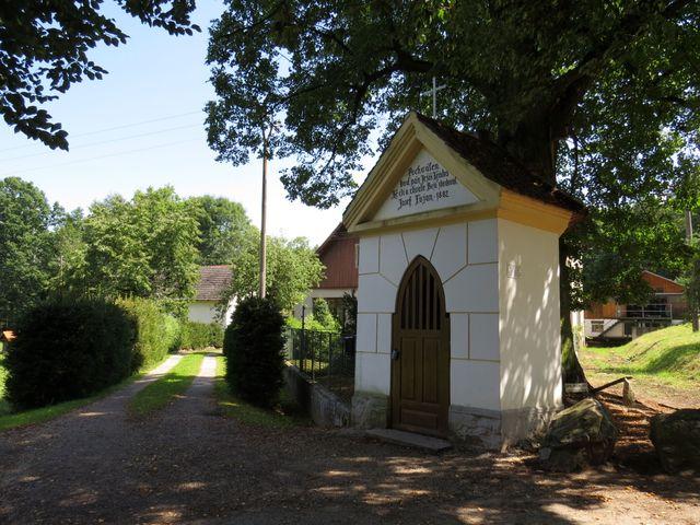 kaplička u Spolského mlýna