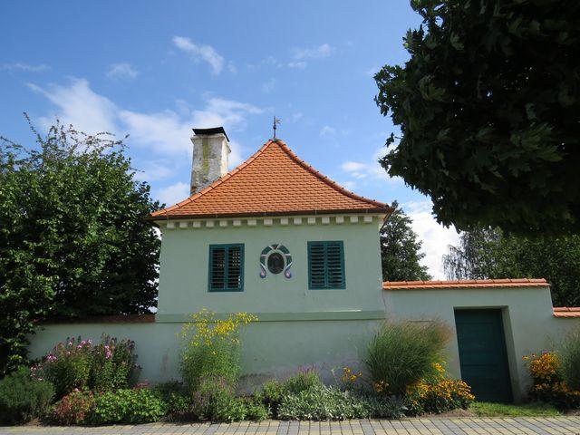 domek v hradbách, kde bydlel J. J. Tyl v roce 1856