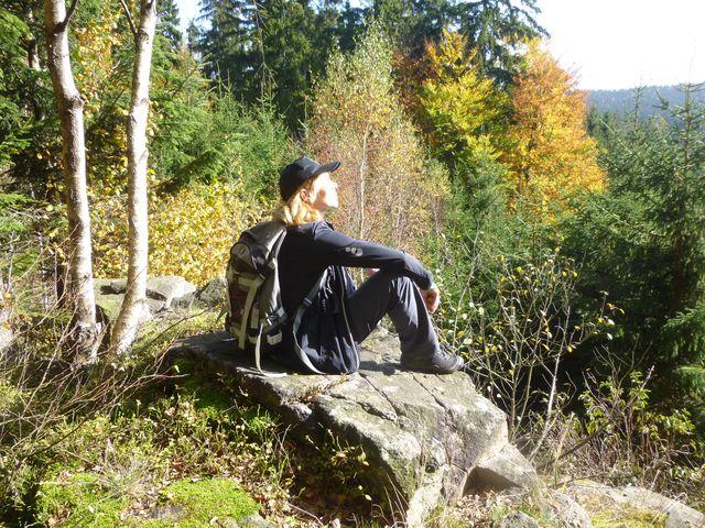oddech v barevných lesích na Čeřínku - foto I. Nejedlá