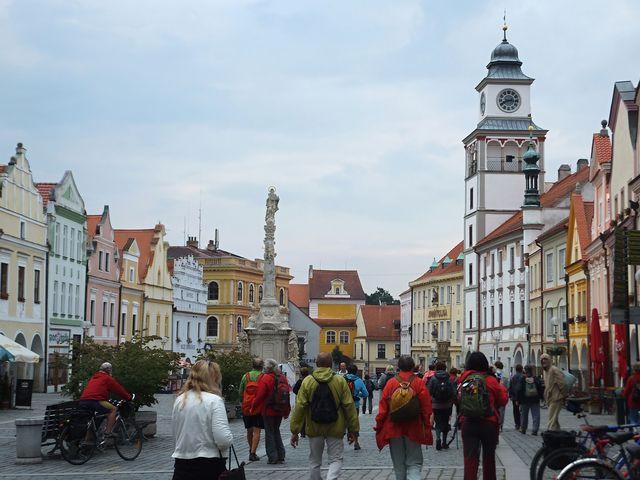 náměstí v Třeboni - foto I. Svobodová