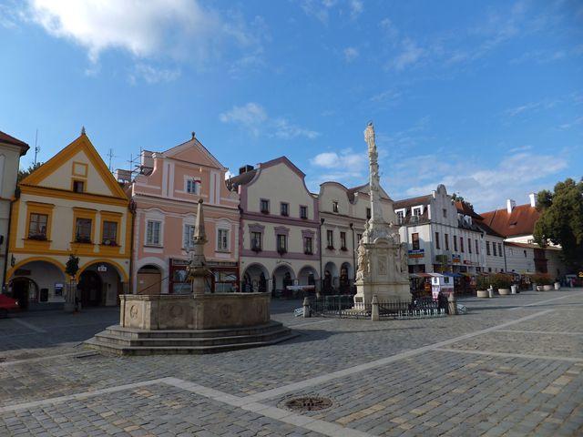 třeboňské náměstí jinak - foto I. Svobodová