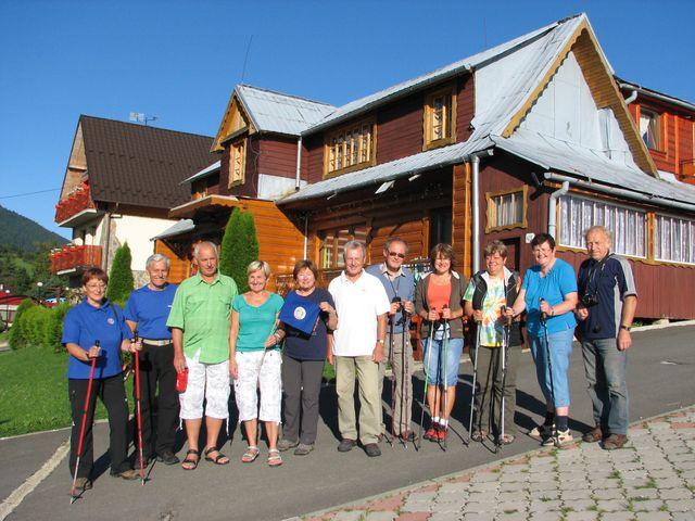 památeční foto jihlavské skupiny - foto M. Bradová