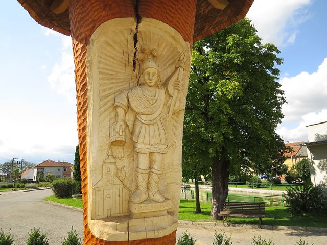 světec chrání obec Mladoňovice