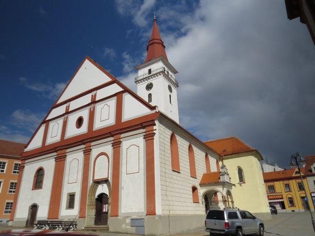 vchod do kostela sv. Stanislava
