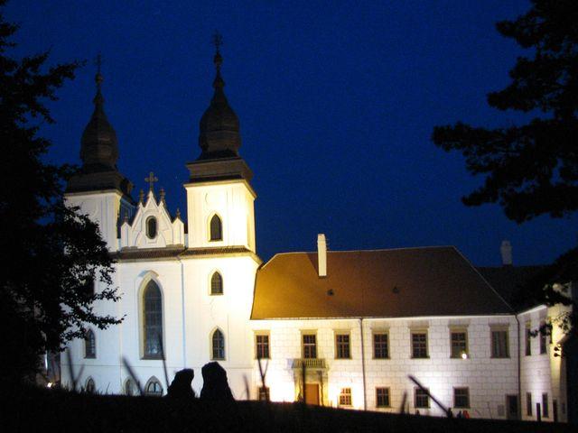 bszilika sv. Prokopa v Třebíči; foto F. Janeček