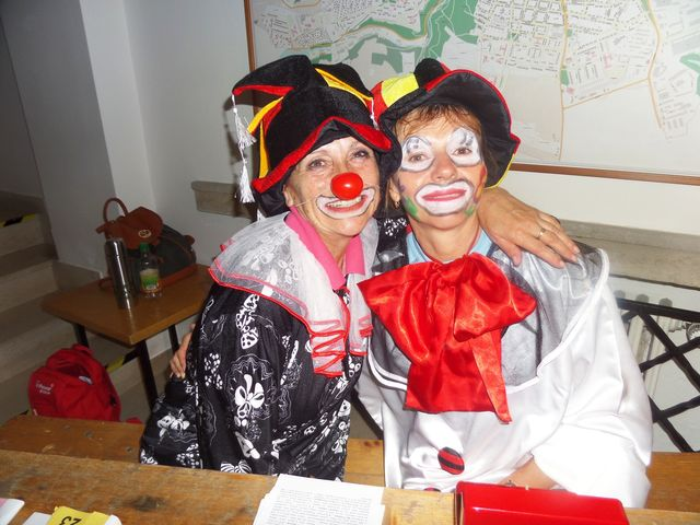 pořadatelé věnovali výběru kostýmů velikou péči; foto L. Tomáš