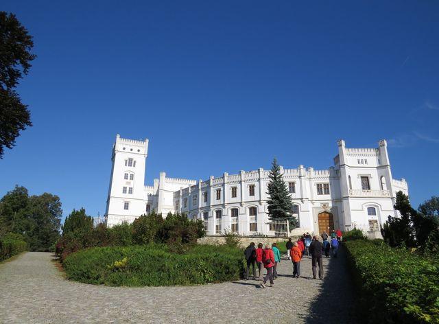 zámek Nový Světlov v Bojkovicích