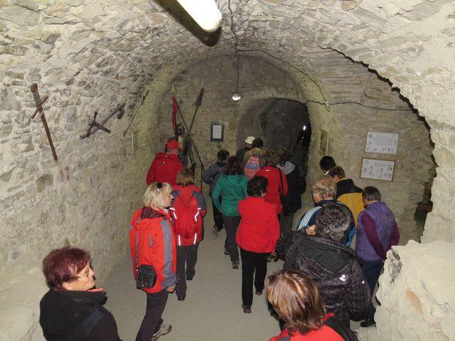 prohlídka unikátních prostor hradu Brumov