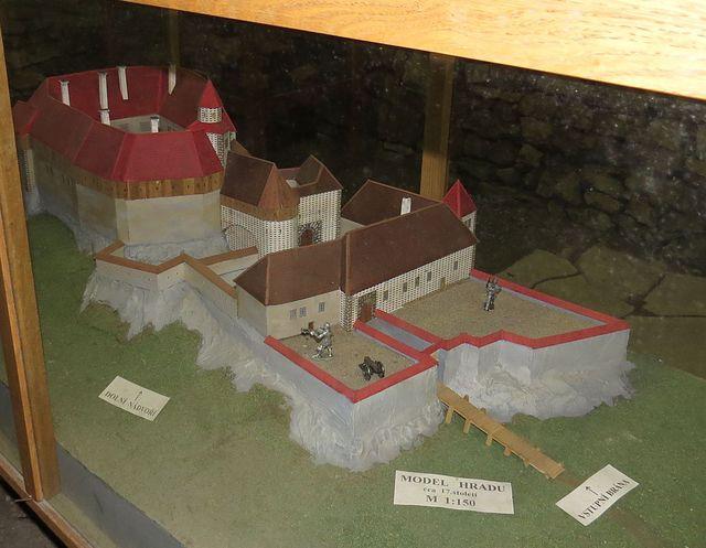 podoba hradu v 17. století