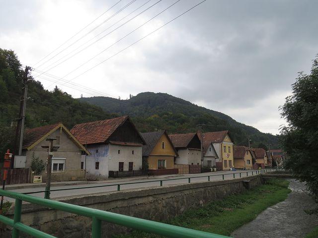 historická část obce Červený Kámen