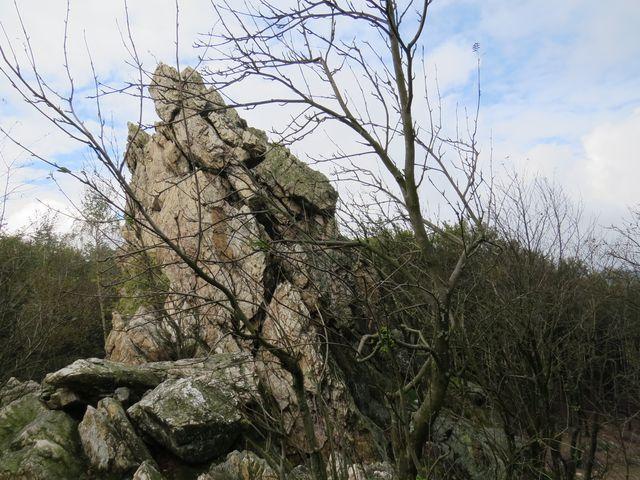 impozantní skalisko - jeden ze Tří jezdců