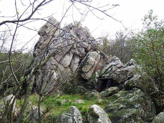 skalní útvar Tři jezdci