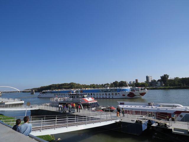 nábřeží Dunaje v Bratislavě