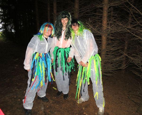 hejkalové v hloubi lesa