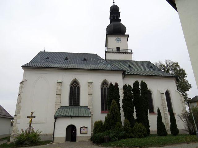 farní kostel sv. Prokopa ve Žďáře nad Sázavou
