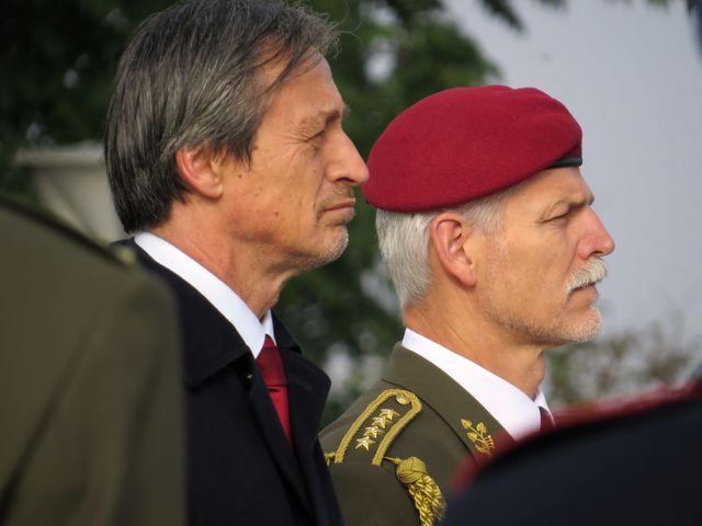 ministr obrany Martin Stropnický a armádní generál Petr Pavel